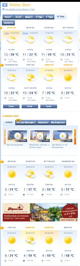 wetter in luxemburg 14 tage