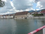 die Aare bei Solothurn
