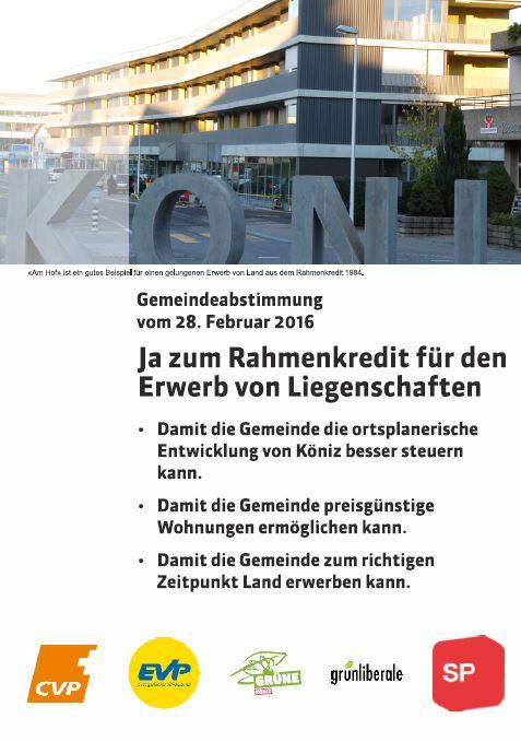 Abstimmung-Rahmenkredit-Koeniz