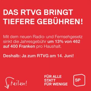 Abstimmung 14. Juni 2015 - Ja zum neuen Radio- und Fernsehgesetz