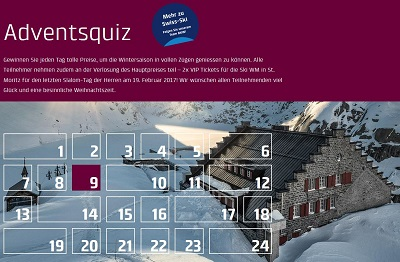 Adventskalender BKW 2016