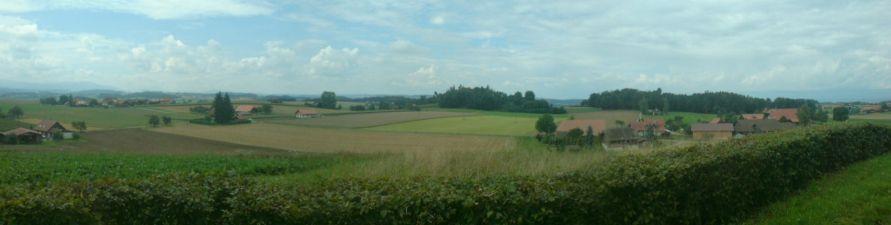 Aussicht vom Denkmal Bramberg
