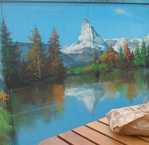 Bergsee Matterhorn