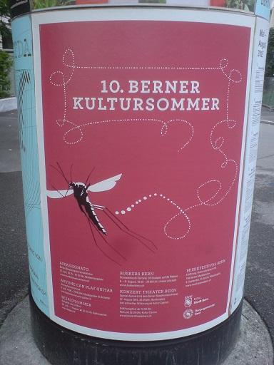 Plakat Kultursommer Bern 2015