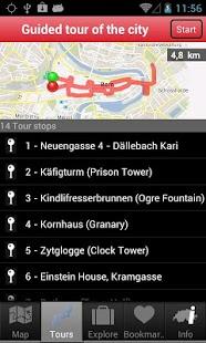 Bern City Guide App - kostenloser Reiseführer für Bern
