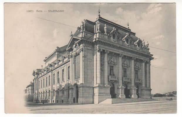 Stadttheater Bern um 1905
