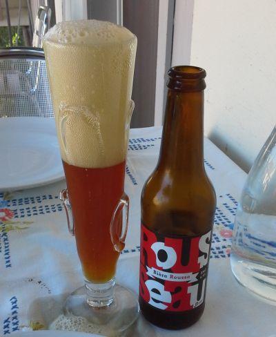 Rousseau - Red Indian Ale - Brasserei Jolimon/Chäsi Erlach