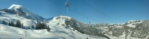 Skilifte Wieriehorn - Aussicht auf Wiriehorn und Homad