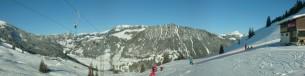 Skilifte Wieriehorn - Aussicht Richtung Abendberg