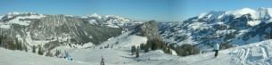 Skilifte Wieriehorn - Aussicht auf Abendberg, Schwarzenberg und Niesenkette
