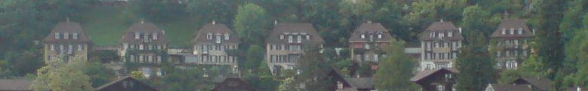 Das Gebäudeensemble Die Sieben Bundesräte an der Oranieburgstrasse 1 - 13 in Bern