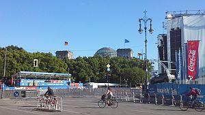 Public Viewing Berlin - Fanmeile am Brandenburger Tor