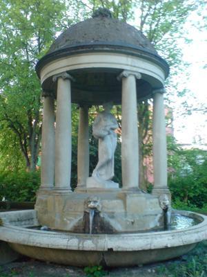 Flora-Brunnen Landesausstellung 1914
