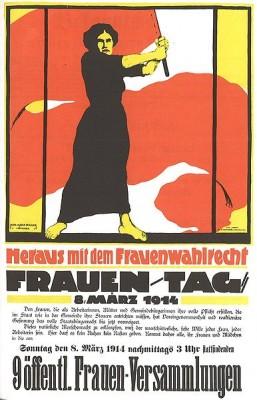 Frauentag-8-Maerz-1914-Frauenwahlrecht