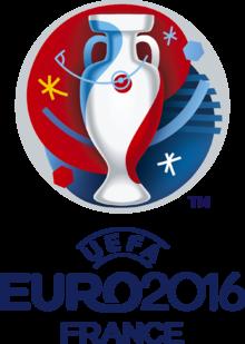 Logo der Fussball EM 2016 in Frankreich