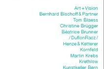 Berner Galerienwochenende 2014