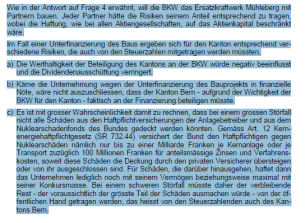 Interpellation Mühleberg