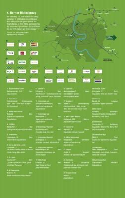Karte Bioläden  Bern und Umgebung