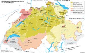 Karte-Schweiz-Wiener-Kongress