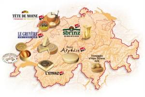 Schweizer Käsesorten AOC