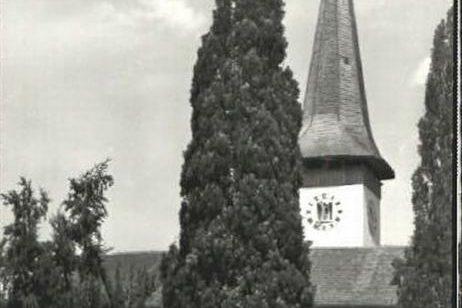 Kirche Köniz um 1965