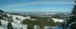 Panorama über das Selital, Mittelland bis zur Jurakette