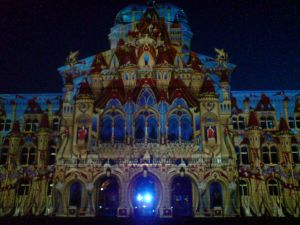 Beleuchtung Bundeshaus 2013