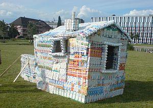 Tetrapack-Haus anlässlich des Liebefeld Open 2014