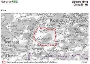 Schutzwürdige Landschaft rund um den Mengistorfberg
