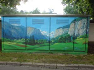 City Mountains im Marzili