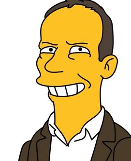 Me as Simpson cartoon character