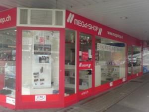 Mega-Shop Filiale am Bubenbergplatz in Bern