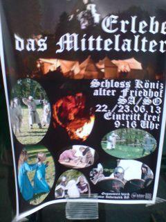 Mittelalterfest-Koeniz