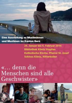 Eine Ausstellung zu Musliminnen und Muslimen im Kanton Bern