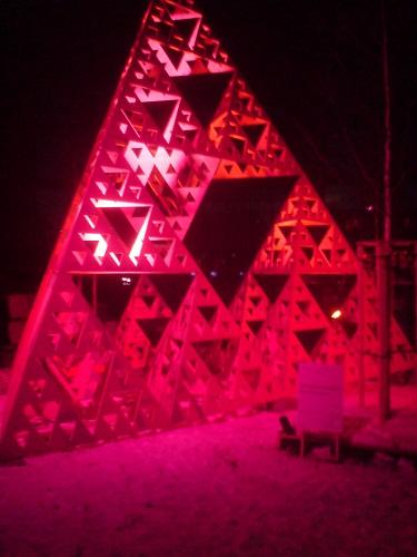 Pyramide Neuhausplatz