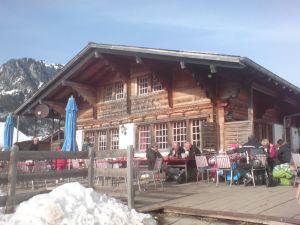 Sonnenterasse Restaurant Eggli Grimmialp