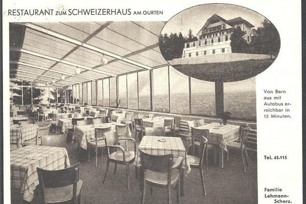 Restaurant Schweizerhaus am Gurten 1934
