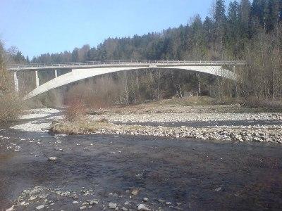 Rossgrabenbrücke von Robert Maillart über das Schwarzwasser