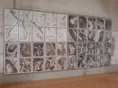 Chaotenbrief, Lithografien, Schang Hutter, 1996