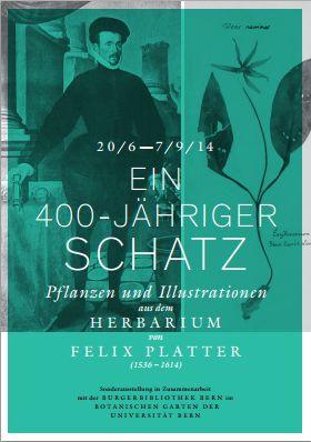 Ein 400 jähriger Schatz - Pflanzen und Illustrationen aus dem Herbarium von Felix Platter