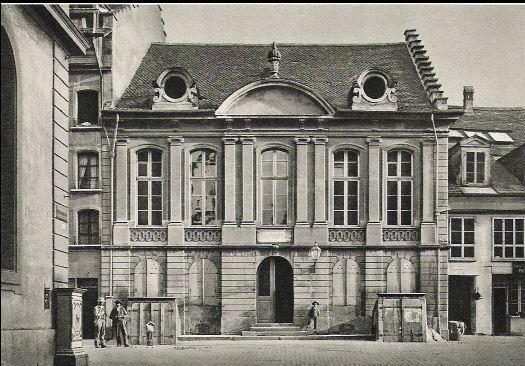 Rathaus zum äusseren Stand - Tagungsort der Tagsatzung in Bern