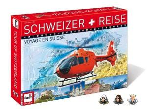 Brettspiel Schweizer Reise