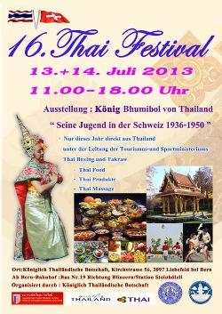 Thai Festival Bern 2013