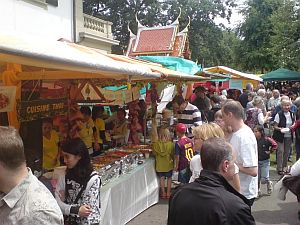 Markt am Thai Food Festival Bern 2012