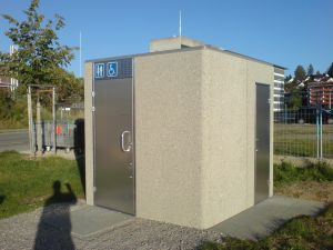 Toilettenhaeusschen