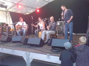 Trio Bravo am Ängelibeck-Eröffnungsfest