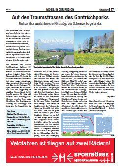 Velotour Naturpark Gantrisch