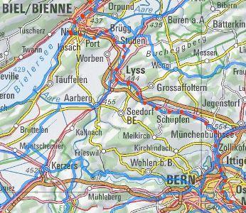 Veloroute Bern - Münchenbuchsee - Lyss - Biel