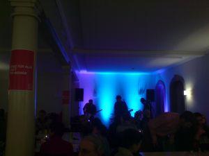 Die Band Ghörsturz am Wahlfest der SP Köniz