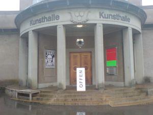 Eingang Kunsthalle Bern